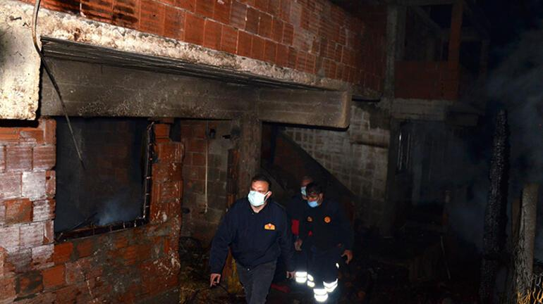 Kastamonuda gece yarısı felaket 6 ev küle döndü