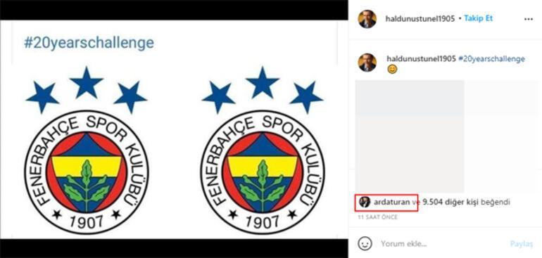 Haldun Üstünelden Fenerbahçeye gönderme