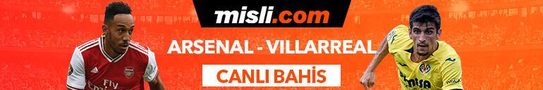Arsenal - Villarreal maçı Tek Maç ve Canlı Bahis seçenekleriyle Misli.com'da