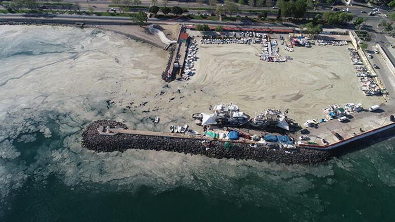 Son dakika: Uydudan görüntülendi Marmarayı boydan boya kapladı