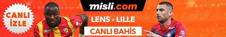 Lens - Lille maçı tek maç ve canlı bahis seçenekleriyle Misli.com'da