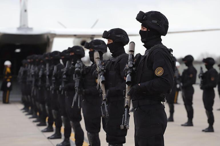 Teşkilatın yeni bölümünde Jandarma Özel Harekat fırtınası