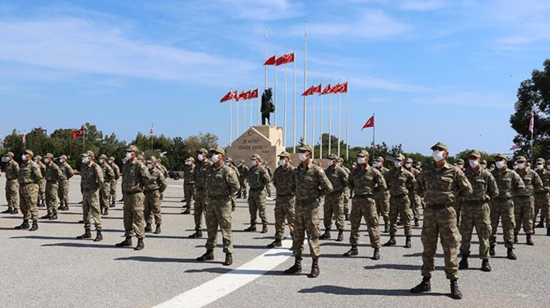 KKTC Güvenlik Kuvvetleri Komutanlığında yemin töreni düzenlendi