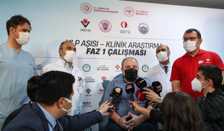 Son dakika Bakan Varank yerli aşının 2.dozunu oldu
