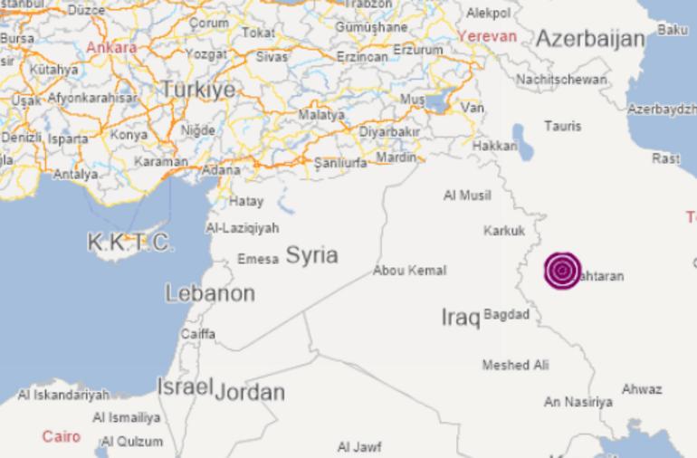 Son dakika... İranda korkutan deprem