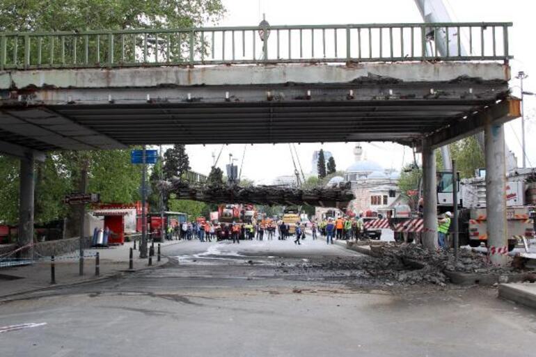 Beşiktaş Meydanındaki varyant kaldırılıyor