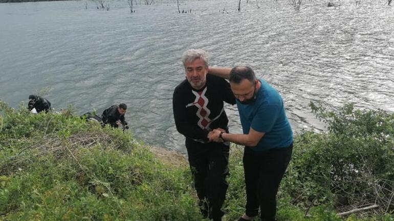 Feci olay! Nehre düşen işçi hayatını kaybetti 1 – 6096ae1855427e067098228f