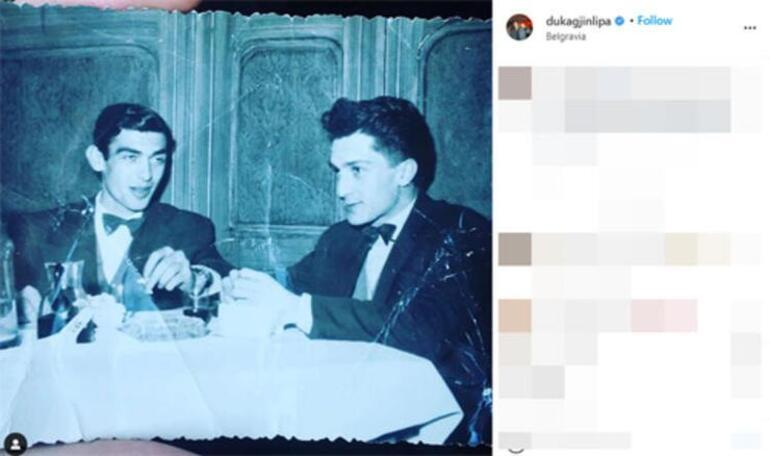 Dua Lipa ile Rita Oranın büyükbabaları da arkadaşmış