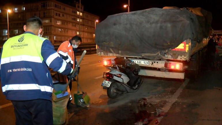 İstanbulda feci kaza 1 ölü, 1 yaralı