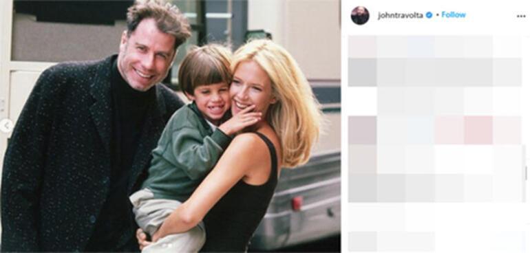 John Travolta kaybettiği eşinin Anneler Gününü kutladı