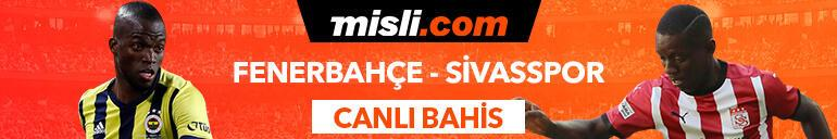 Fenerbahçe - Sivasspor maçının heyecanı Tek Maç ve Canlı Bahis seçenekleriyle Misli.com'da