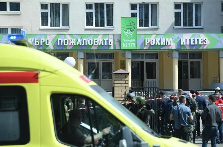 Son dakika: Rusya'da ateş açılan bir okulun içinde patlama
