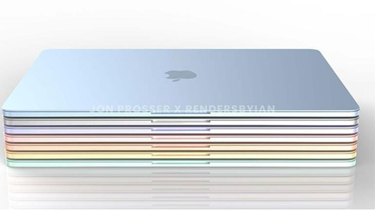 Yeni nesil MacBook Air rengarenk olacak