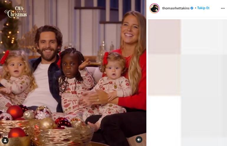 Thomas Rhett dördüncü kez baba oluyor