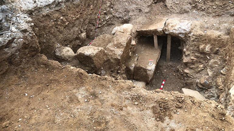 İnşaat kazısından tarih çıktı 2 bin 400 yıl öncesine ait...