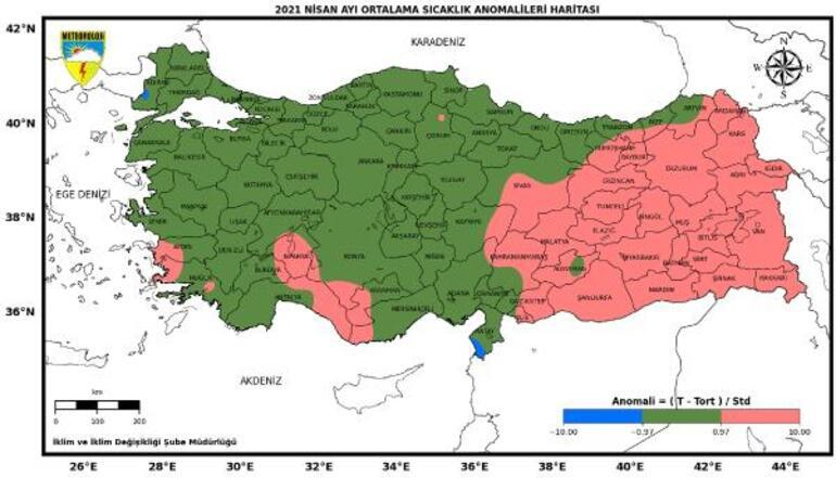 Üç bölgede olağanüstü kuraklık