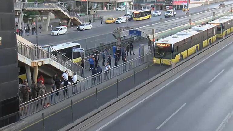 Son dakika: Metrobüste rehine krizi İkna çalışmaları sonuç verdi