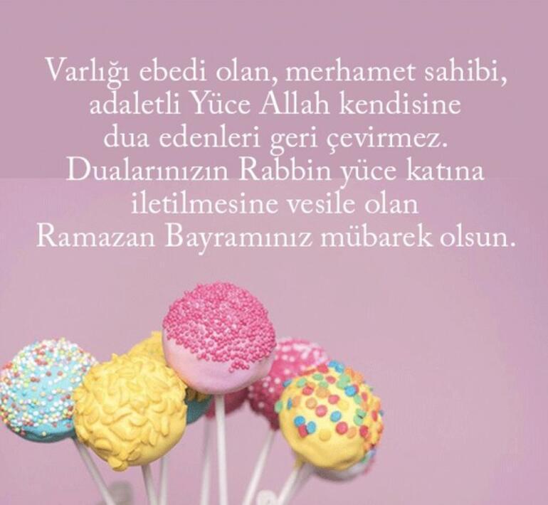 Bayram mesajları kısa, komik, resimli, sevgiliye seçenekler 2021 Ramazan / Şeker Bayramı mesajları...
