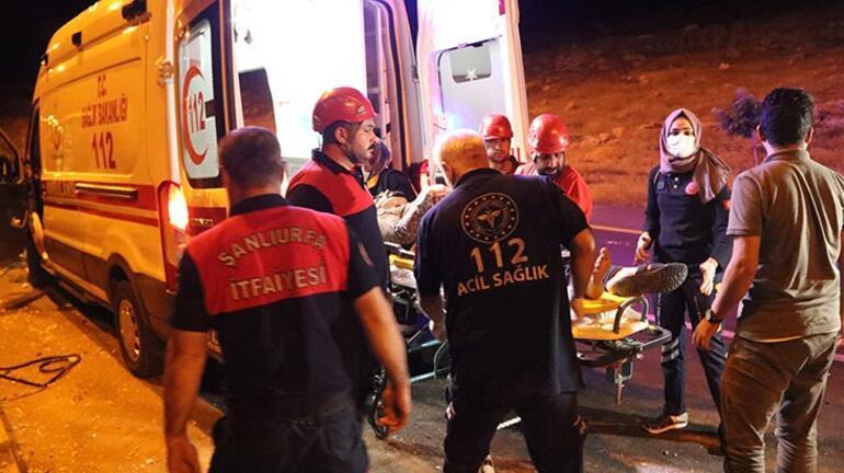 Şanlıurfada feci kaza: 7 yaralı