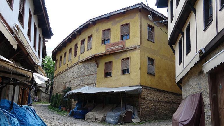 Bursanın tarihi köyü Cumalıkızık Ramazan Bayramında sessiz