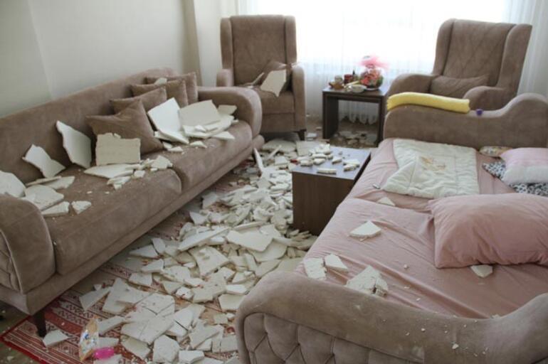 Evde oturuyorlardı ne olduğunu anlamadılar Büyük şok
