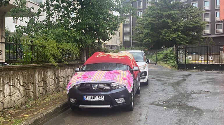 Son dakika... Meteoroloji uyarmıştı İstanbulda dolu yağışı başladı