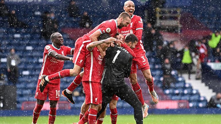 Son dakika - Liverpool, kalecisi Alissonun son dakika golüyle kazandı