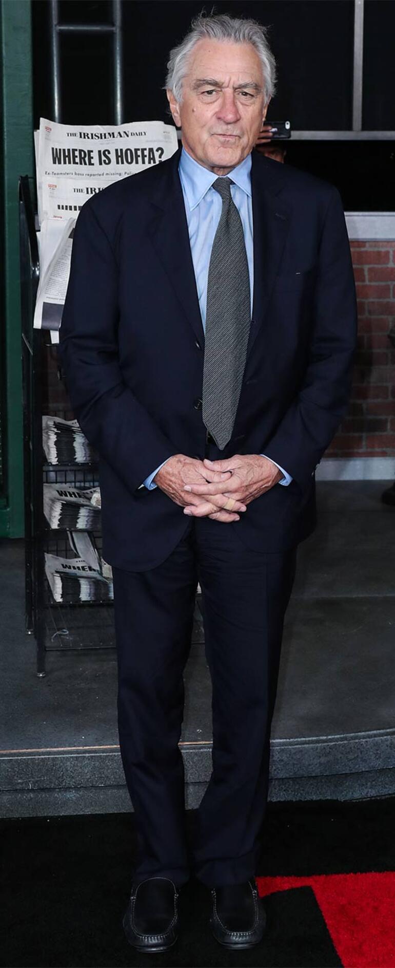 Robert De Niro sette kaza geçirdi
