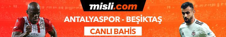 Antalyaspor - Beşiktaş maçı canlı bahis heyecanı Misli.comda