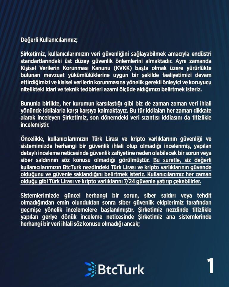 BtcTürkten hacklendi iddialarına önemli açıklama