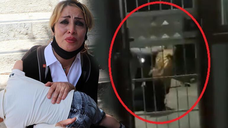 Son dakika... İranlı eşini döven tutuklu kocaya, diğer duruşmaya kadar ev hapsi