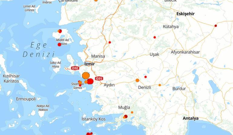Son Depremler Kandilli - AFAD 19 Mayıs: İzmirde deprem mi oldu, en son nerede deprem oldu