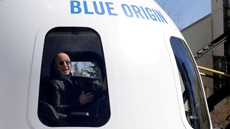 Blue Origin uzaya gitmek için ödenmesi gereken rakamı açıkladı