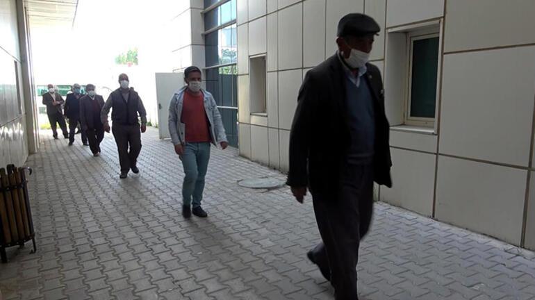 Vanın Erciş ilçesinde aşı için camilerden anons yapıldı