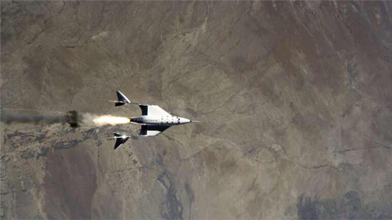 Virgin Galactic iki yılın ardından ikinci kez uzayda