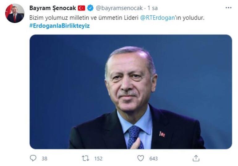 Binlerce tweet atıldı #ErdoğanlaBirlikteyiz