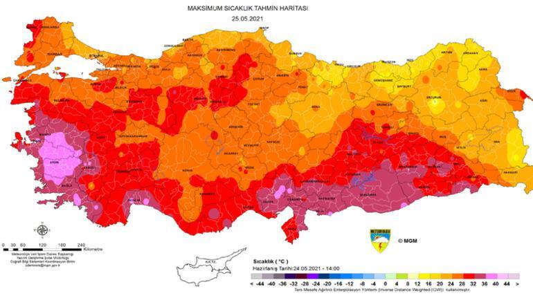 Son dakika... Meteorolojiden flaş sıcaklık uyarısı Mor bölgede yaşayanlar dikkat