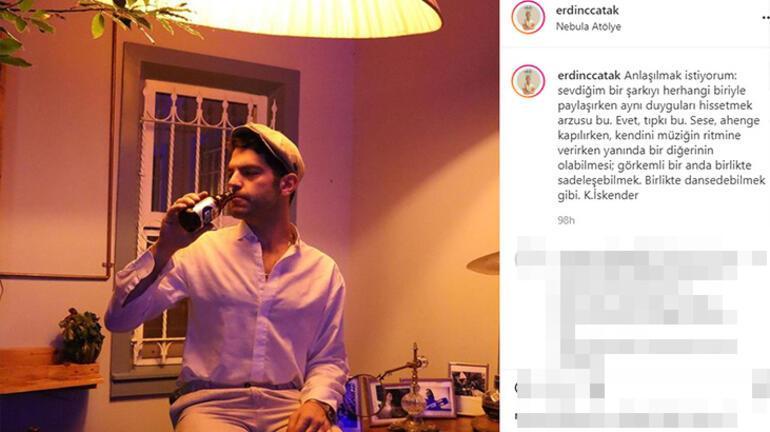 Tuba Büyüküstün, Erdinç Çatak ile aşk mı yaşıyor