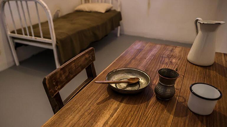 İşte Adnan Menderes'in tutulduğu oda