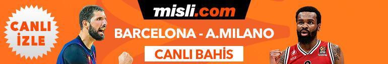 Barcelona Lassa-Olimpia Milano maçı Tek Maç ve Canlı Bahis seçenekleriyle Misli.comda