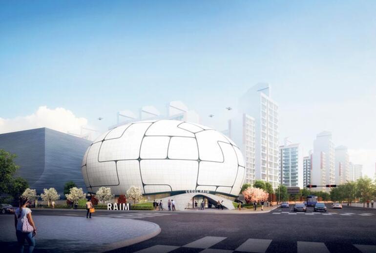 İstanbul'a fütüristik kule, Seul'e robot bilim müzesi