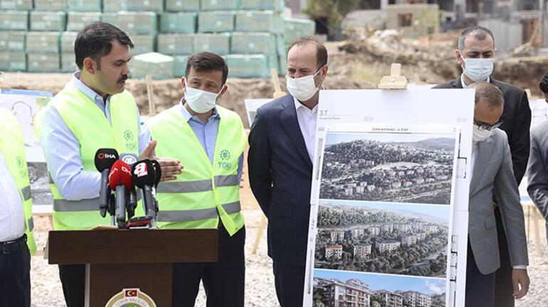 İzmire kentsel dönüşüm için 2 milyar 200 milyon liralık yatırım