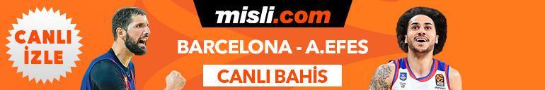 Barcelona - Anadolu Efes maçı Tek Maç, Canlı Bahis ve Canlı İzle seçenekleriyle Misli.comda