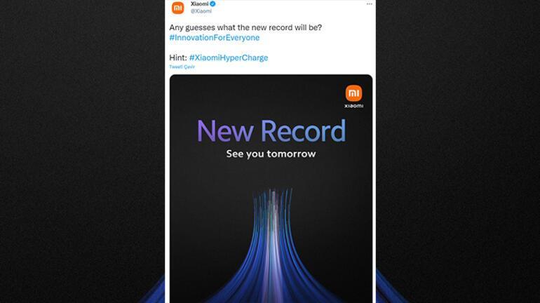 Xiaomi yeni HyperCharge hızlı şarj teknolojisini tanıtacak