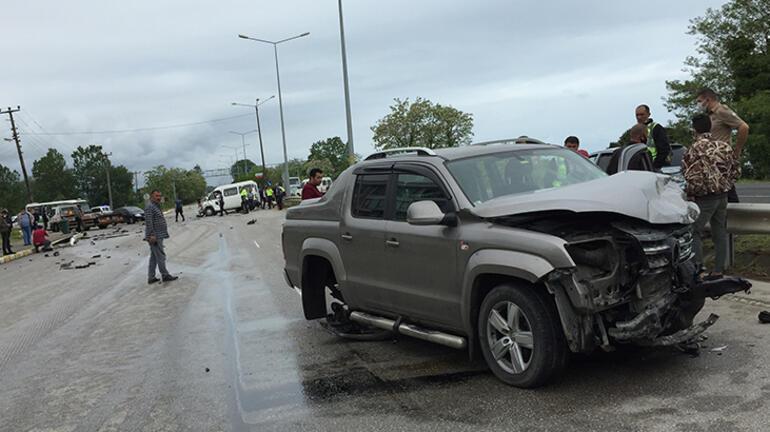 Orduda can pazarı 3ü çocuk 13 kişi yaralandı