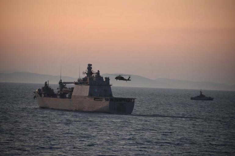 MSB'den Ege Denizi ve Doğu Akdeniz'de gövde gösterisi 1 – 60b658345542840b008af40f