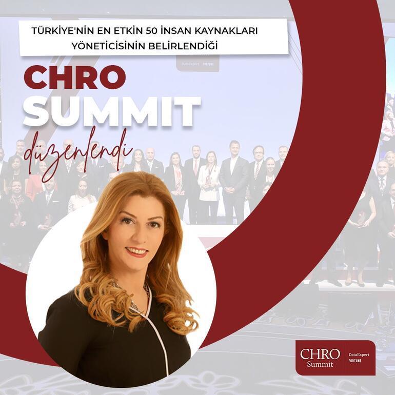 Demirören Medya İnsan Kaynakları Grup Başkanı Elif Karacaoğlu Türkiye'nin 'En Etkin 50 CHRO' listesinde