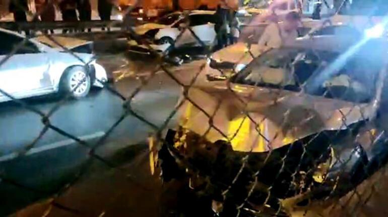 Avcılar'da zincirleme kaza! Araçlar birbirine girdi 2 – 60b6b7b955427f2508f40e89