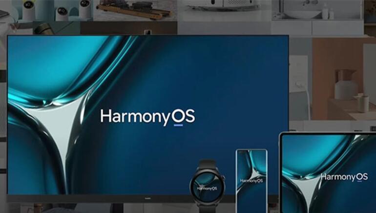 Huawei yeni HarmonyOS işletim sistemini ve ürünlerini tanıttı