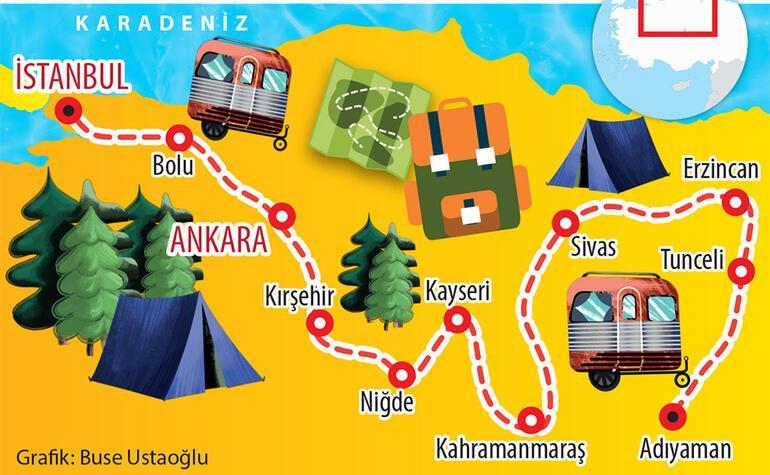 Macera dolu Anadolu